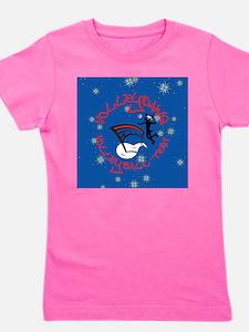 Volleydawg Holiday Girl's Tee