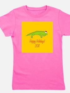 Iguana Holiday Girl's Tee