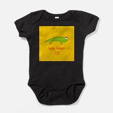 Iguana Holiday Baby Bodysuit