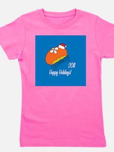 Jellyfish Holiday Girl's Tee