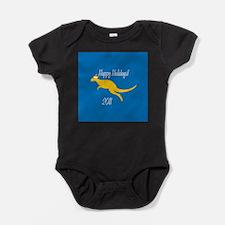Kangaroo Holiday Baby Bodysuit