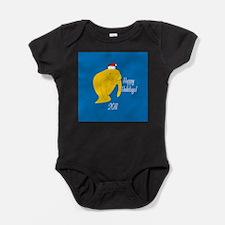 Manatee Holiday Baby Bodysuit
