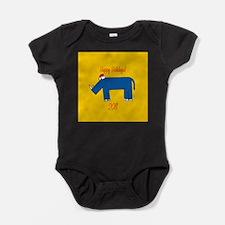 Rhino Holiday Baby Bodysuit