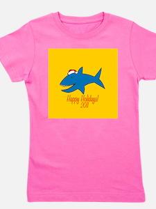 Shark Holiday Girl's Tee