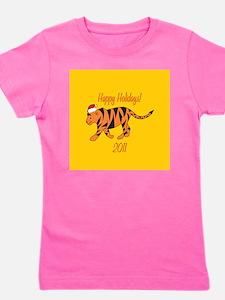Tiger Holiday Girl's Tee