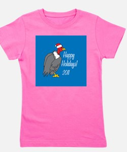 Vulture Ornament Girl's Tee