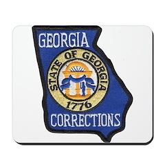 Georgia Corrections Mousepad
