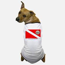 Aloha Scuba Diver Down Flag Dog T-Shirt