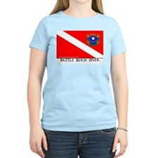 Nevada Battle Born Scuba Diver Flag T-Shirt