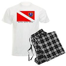 Nevada Battle Born Scuba Diver Flag Pajamas