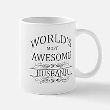 World's Most Awesome Husband Small Small Mug