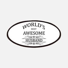 World's Most Awesome Husband Patches