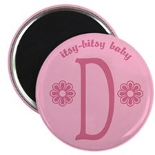"""Baby D 2.25"""" Magnet (10 pack)"""