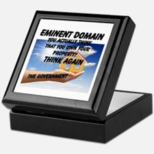 Eminent Domain Keepsake Box