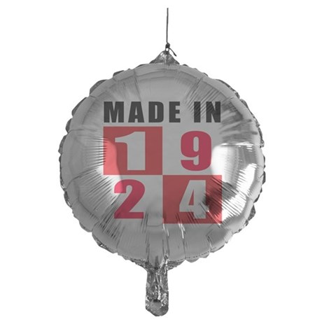 Made In 1924 Mylar Balloon