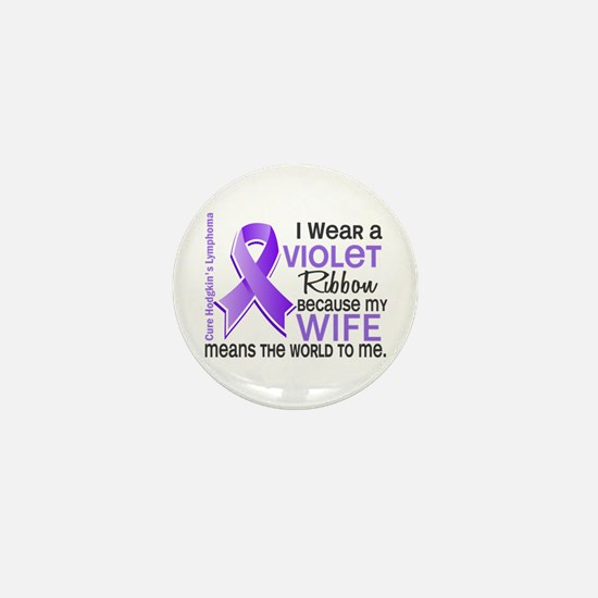 LO Means World H Lymphoma Mini Button