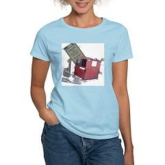 Dumpster Diving Women's Pink T-Shirt