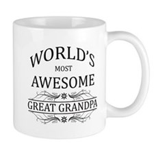 World's Most Awesome Great Grandpa Mug
