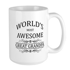 World's Most Awesome Great Grandpa Mug