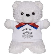 World's Most Awesome Great Grandpa Teddy Bear
