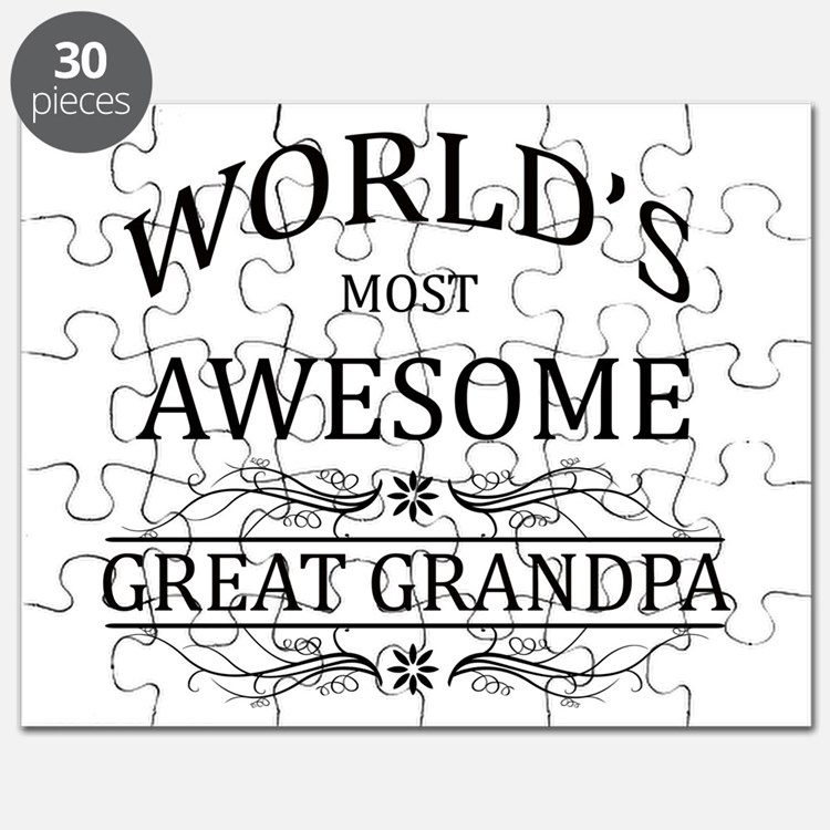 World's Most Awesome Great Grandpa Puzzle