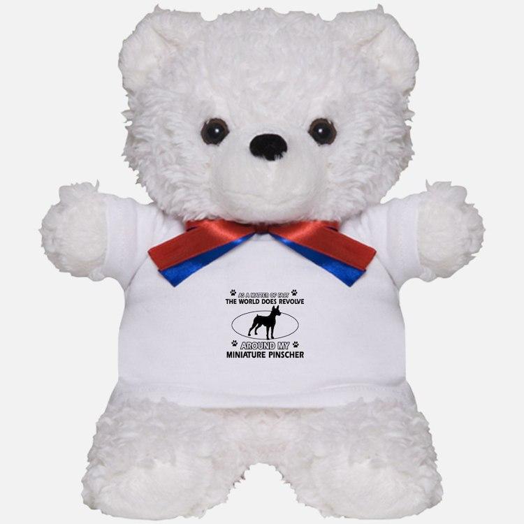 Miniature Pinscher Dog breed designs Teddy Bear