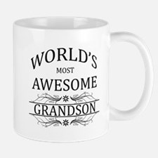 World's Most Awesome Grandson Small Small Mug