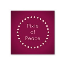 Pixie of Peace Sticker