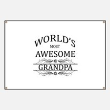 World's Most Awesome Grandpa Banner