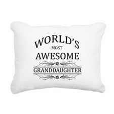 World's Most Awesome Granddaughter Rectangular Can
