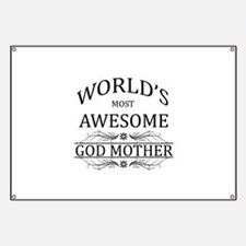 World's Most Awesome Godmother Banner