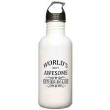 World's Most Awesome Father-in-Law Water Bottle