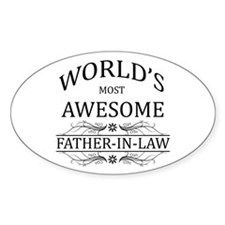World's Most Awesome Father-in-Law Decal