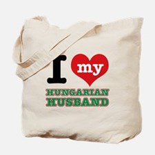 I love my Hungarian Husband Tote Bag