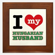 I love my Hungarian Husband Framed Tile