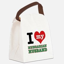 I love my Hungarian Husband Canvas Lunch Bag