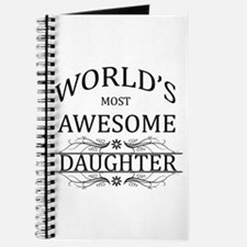 World's Most Awesome Daughter Journal