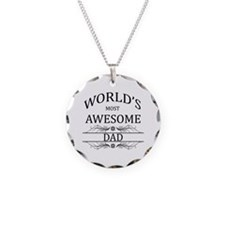 World's Most Awesome Dad Necklace