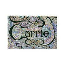 Carrie Rectangle Magnet