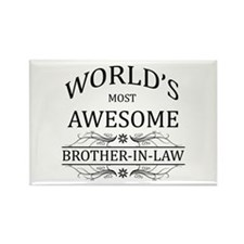 World's Most Awesome Brother-in-Law Rectangle Magn