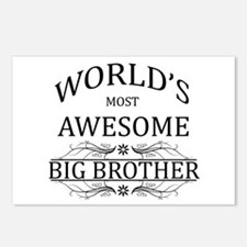 World's Most Awesome Big Brother Postcards (Packag