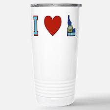 Peace Love Idaho Stainless Steel Travel Mug