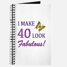 I Make 40 Look Fabulous! Journal
