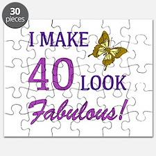 I Make 40 Look Fabulous! Puzzle