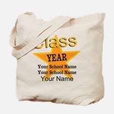 Custom Graduation Tote Bag