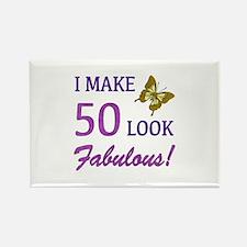 I Make 50 Look Fabulous! Rectangle Magnet