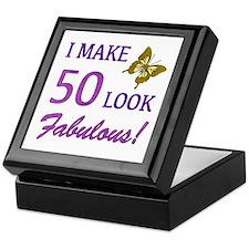 I Make 50 Look Fabulous! Keepsake Box