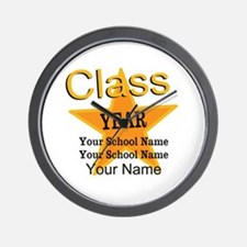 Custom Graduation Wall Clock