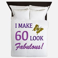 I Make 60 Look Fabulous! Queen Duvet
