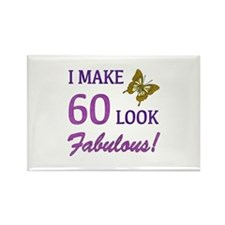 I Make 60 Look Fabulous! Rectangle Magnet